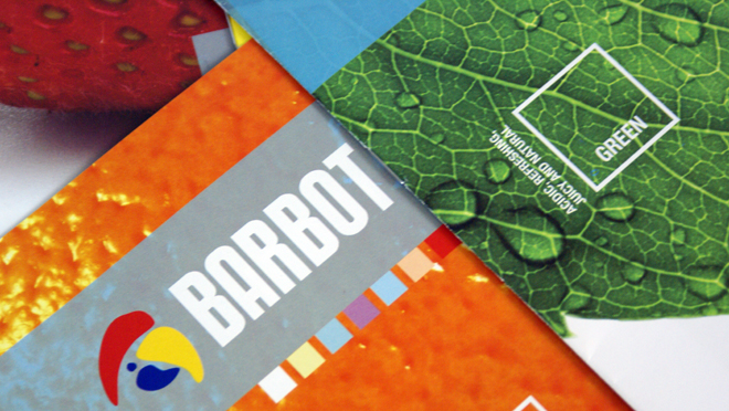 Design de revista Barbot