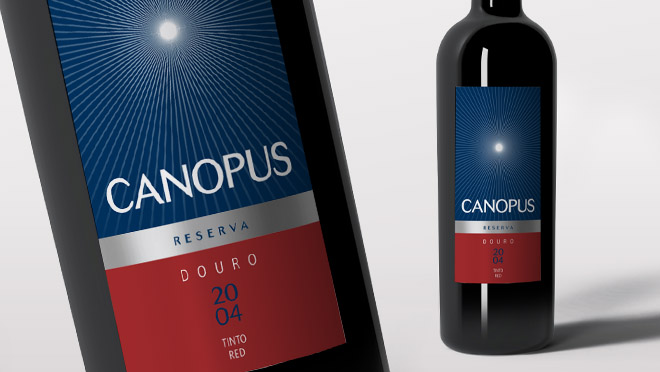 Design labels Canopus