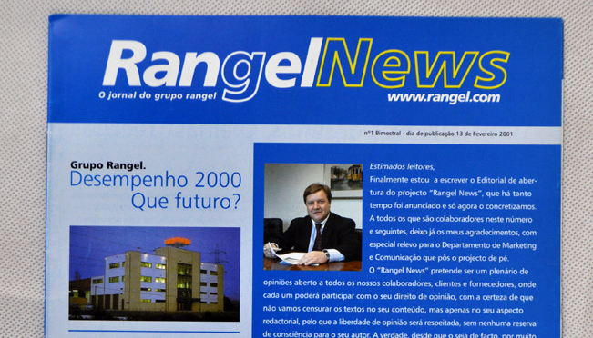 Design newsletters Group Rangel