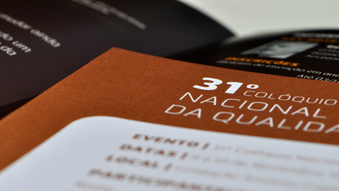 Design of brochure APQ