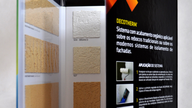 Design of catalogs Decotherm