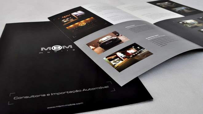 Design of catalogs MBM