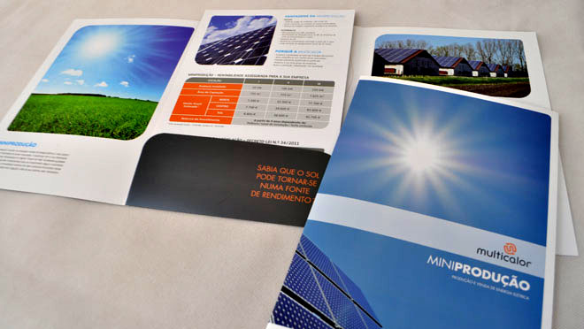 Design of catalogs and brochures EGE
