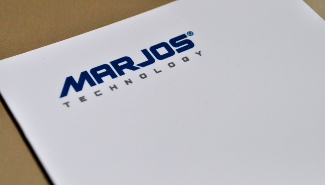 Creation of logo and branding Marjos