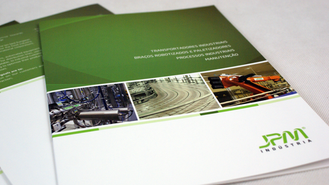 Design of catalogs JPM