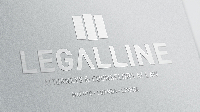 Creation of logo and branding, and Legalline