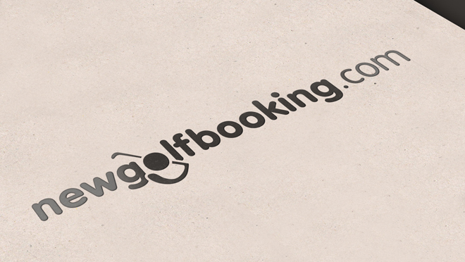 Creating logo NewGolfBooking