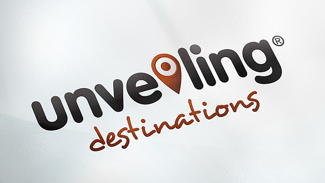 Creating logo Unveiling Destinations