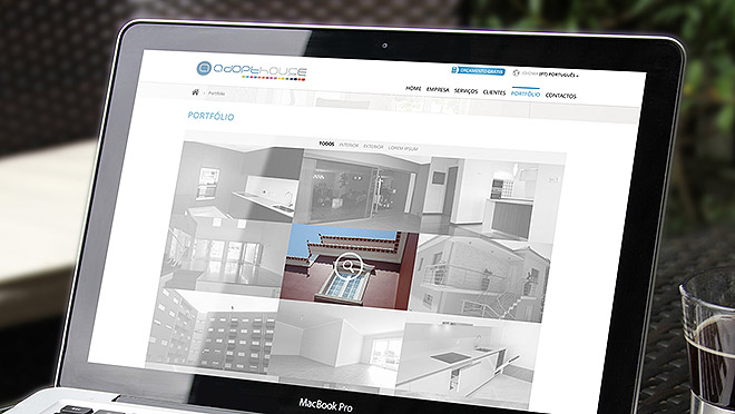 Web design, web site creation Adopthouse