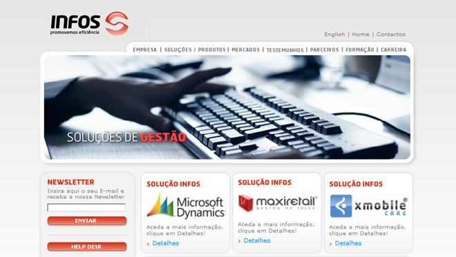 Creation of sites and web design Infos