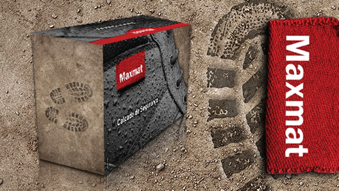 Packaging Design footwear MaxMat